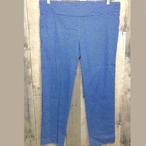 Margaret M Petite Ankle Diamond Textured Pants